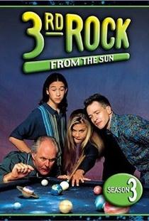 3rd Rock From the Sun (3°Temporada) - Poster / Capa / Cartaz - Oficial 1