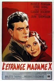 L'Étrange Madame X - Poster / Capa / Cartaz - Oficial 2