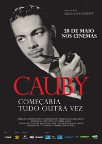 Cauby - Começaria Tudo Outra Vez - Poster / Capa / Cartaz - Oficial 1