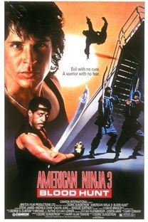 American Ninja 3: O Dragão Americano - Poster / Capa / Cartaz - Oficial 4