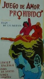Juego de Amor Prohibido  - Poster / Capa / Cartaz - Oficial 1