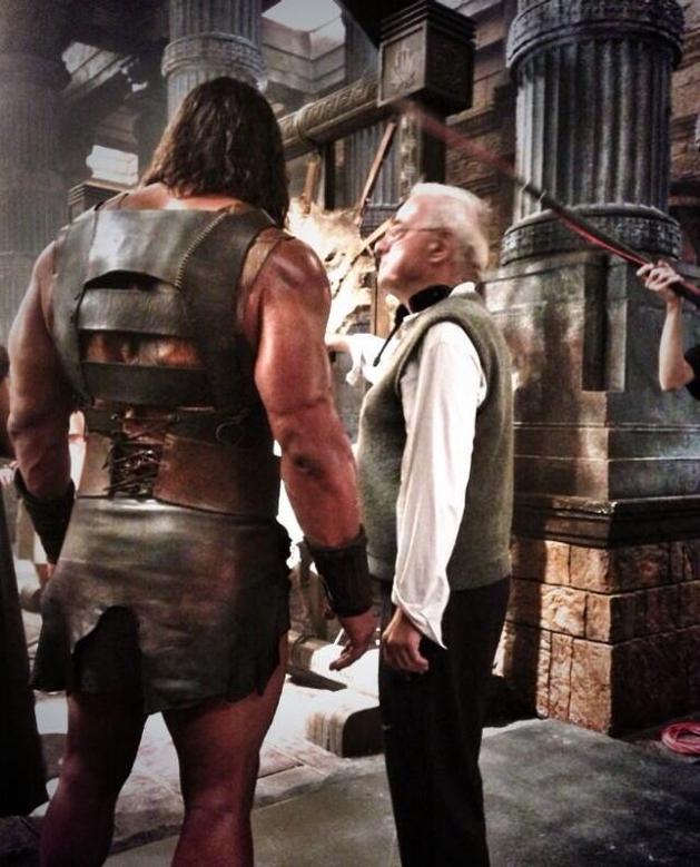"""Dwayne Johnson em mais uma imagem de """"Hércules"""""""