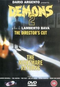 Demons 2 - Eles Voltaram - Poster / Capa / Cartaz - Oficial 4