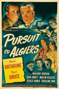 Sherlock Holmes - Desforra em Argel - Poster / Capa / Cartaz - Oficial 2