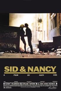 Sid & Nancy - O Amor Mata - Poster / Capa / Cartaz - Oficial 1