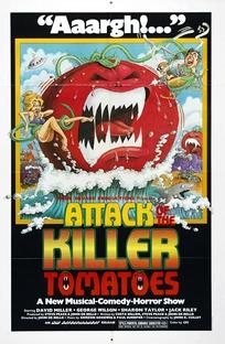 Ataque dos Tomates Assassinos - Poster / Capa / Cartaz - Oficial 1