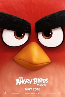 Angry Birds: O Filme - Poster / Capa / Cartaz - Oficial 2