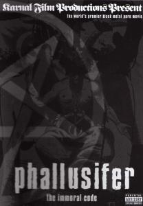 Phallusifer - The Immoral Code - Poster / Capa / Cartaz - Oficial 1
