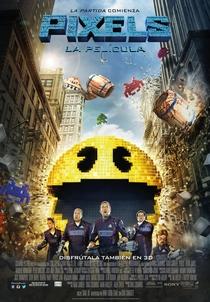 Pixels: O Filme - Poster / Capa / Cartaz - Oficial 9