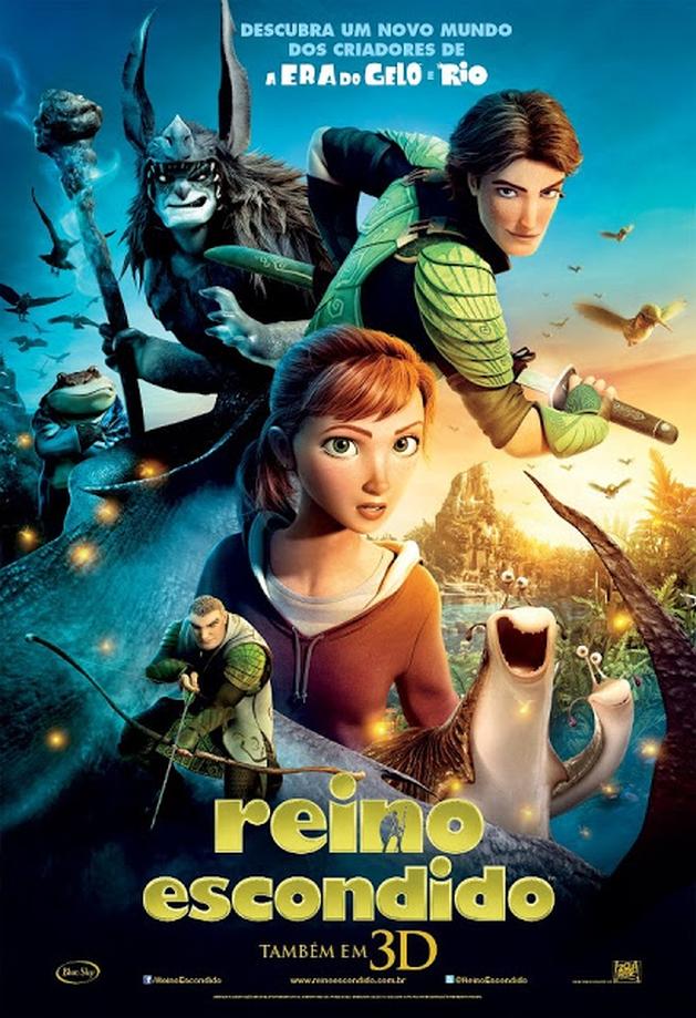REINO ESCONDIDO chega em Blu-ray 3D, Blu-Ray, DVD e e DigitalHD |