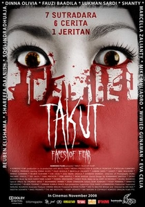 Takut: Faces of Fear - Poster / Capa / Cartaz - Oficial 1