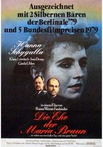 O Casamento de Maria Braun - Poster / Capa / Cartaz - Oficial 2