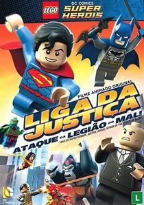 Lego Liga da Justiça - Ataque da Legião do Mal! - Poster / Capa / Cartaz - Oficial 1