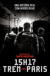 15h17 - Trem Para Paris - Poster / Capa / Cartaz - Oficial 3