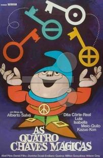 As Quatro Chaves Mágicas - Poster / Capa / Cartaz - Oficial 1