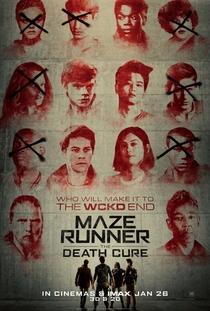 Maze Runner: A Cura Mortal - Poster / Capa / Cartaz - Oficial 7