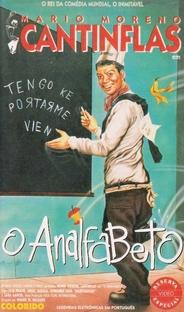 """Mario Moreno Cantinflas em """"O Analfabeto"""" - Poster / Capa / Cartaz - Oficial 1"""