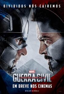 Capitão América: Guerra Civil - Poster / Capa / Cartaz - Oficial 10