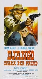 Django Atira Primeiro - Poster / Capa / Cartaz - Oficial 1