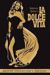 A Doce Vida - Poster / Capa / Cartaz - Oficial 9