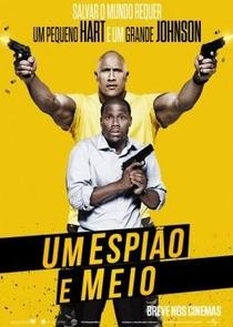 Um Espião e Meio - Poster / Capa / Cartaz - Oficial 1