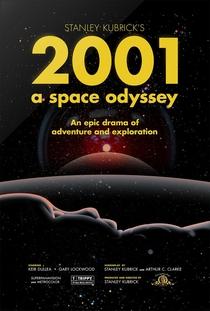 2001: Uma Odisseia no Espaço - Poster / Capa / Cartaz - Oficial 25
