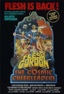 Flesh Gordon Meets the Cosmic Cheerleaders - Poster / Capa / Cartaz - Oficial 1