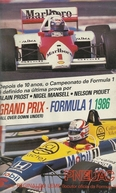 Grand Prix - Formula 1, 1986 (All Over Down Under)