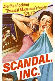 Scandal Incorporated - Poster / Capa / Cartaz - Oficial 1
