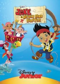Jake e os Piratas da Terra do Nunca - Poster / Capa / Cartaz - Oficial 2