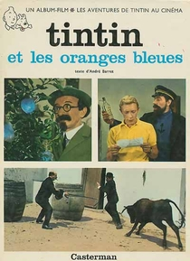 Tintim e as Laranjas Azuis  - Poster / Capa / Cartaz - Oficial 2