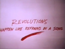 Revolutions Happen Like Refrains in a Song - Poster / Capa / Cartaz - Oficial 1
