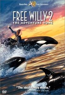 Free Willy 2 - A Aventura Continua - Poster / Capa / Cartaz - Oficial 1