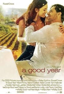 Um Bom Ano - Poster / Capa / Cartaz - Oficial 1