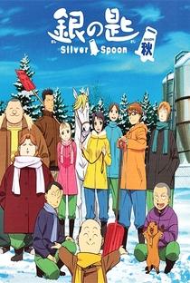 Gin no Saji (2ª Temporada) - Poster / Capa / Cartaz - Oficial 4