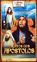 A Bíblia Viva - Os Atos dos Apóstolos - Poster / Capa / Cartaz - Oficial 2