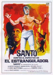 Santo Enfrenta o Fantasma Assassino - Poster / Capa / Cartaz - Oficial 1