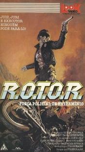R.O.T.O.R. - Força Policial de Extermínio - Poster / Capa / Cartaz - Oficial 2