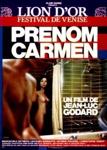 Carmen de Godard - Poster / Capa / Cartaz - Oficial 7