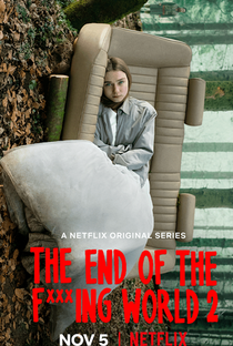 The End of the F***ing World (2ª Temporada) - Poster / Capa / Cartaz - Oficial 1