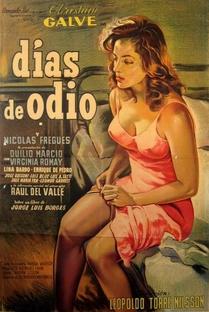 Días de Odio - Poster / Capa / Cartaz - Oficial 1