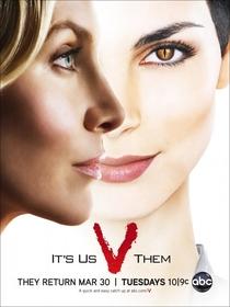 V – Visitors (2ª Temporada) - Poster / Capa / Cartaz - Oficial 3