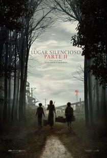 Um Lugar Silencioso - Parte II - Poster / Capa / Cartaz - Oficial 1