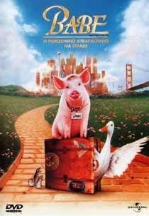 Babe - O Porquinho Atrapalhado na Cidade - Poster / Capa / Cartaz - Oficial 2