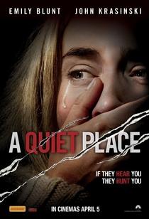 Um Lugar Silencioso - Poster / Capa / Cartaz - Oficial 4