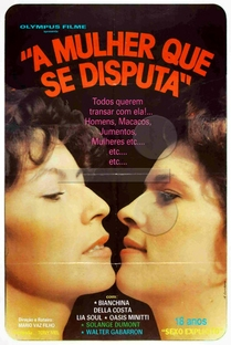 A Mulher Que se Disputa - Poster / Capa / Cartaz - Oficial 1