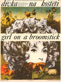 The Girl on the Broomstick - Poster / Capa / Cartaz - Oficial 1