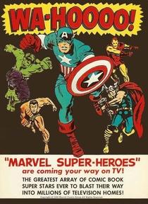The Marvel Super Heroes  - Poster / Capa / Cartaz - Oficial 1