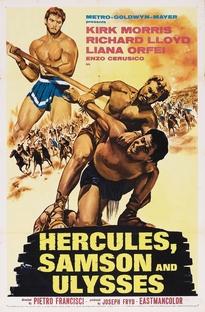 Hércules, Sansão e Ulisses - Poster / Capa / Cartaz - Oficial 1