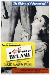 The private affairs of Bel Ami - Poster / Capa / Cartaz - Oficial 1